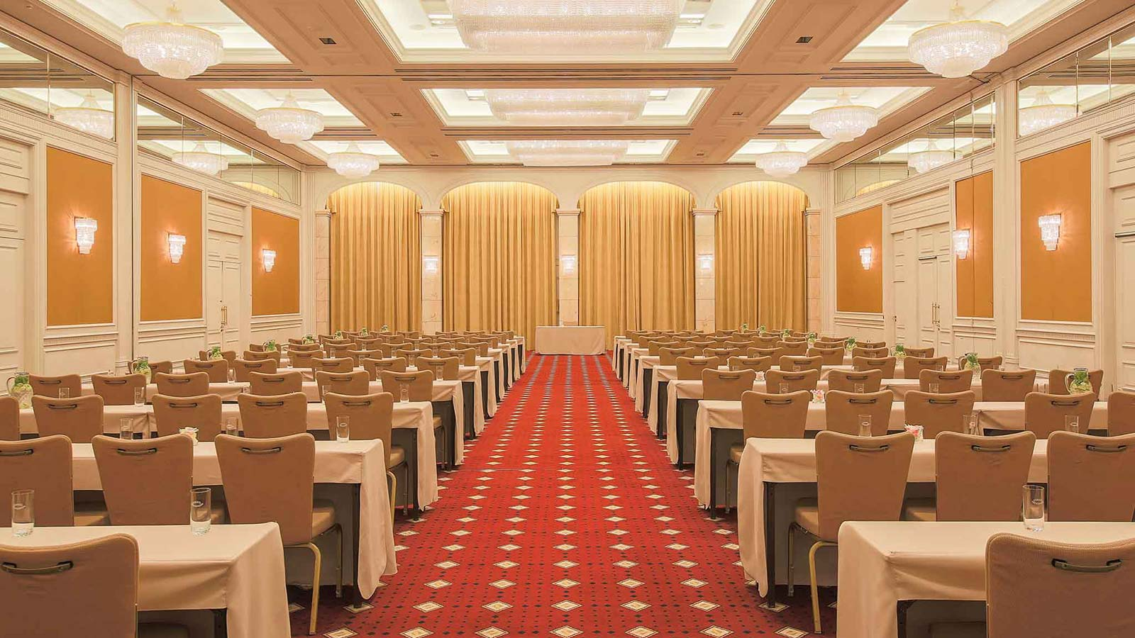 Event room Elysee at conference hotel Le Méridien Stuttgart