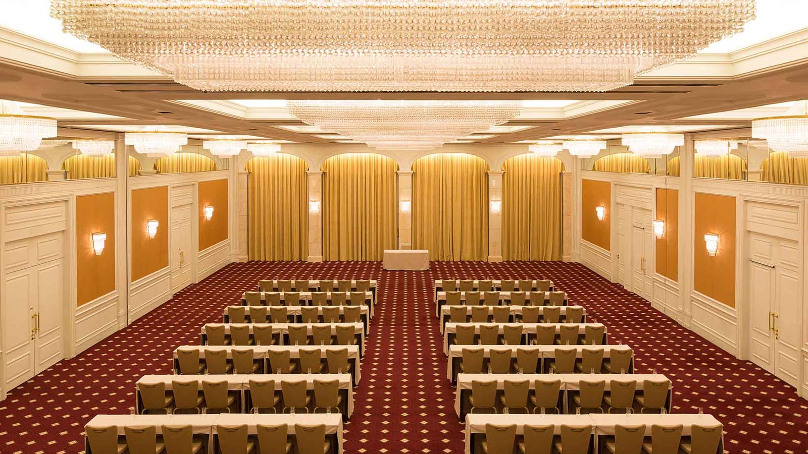 Ballroom Elysee at conference hotel Le Méridien Stuttgart - up to 450 PAX