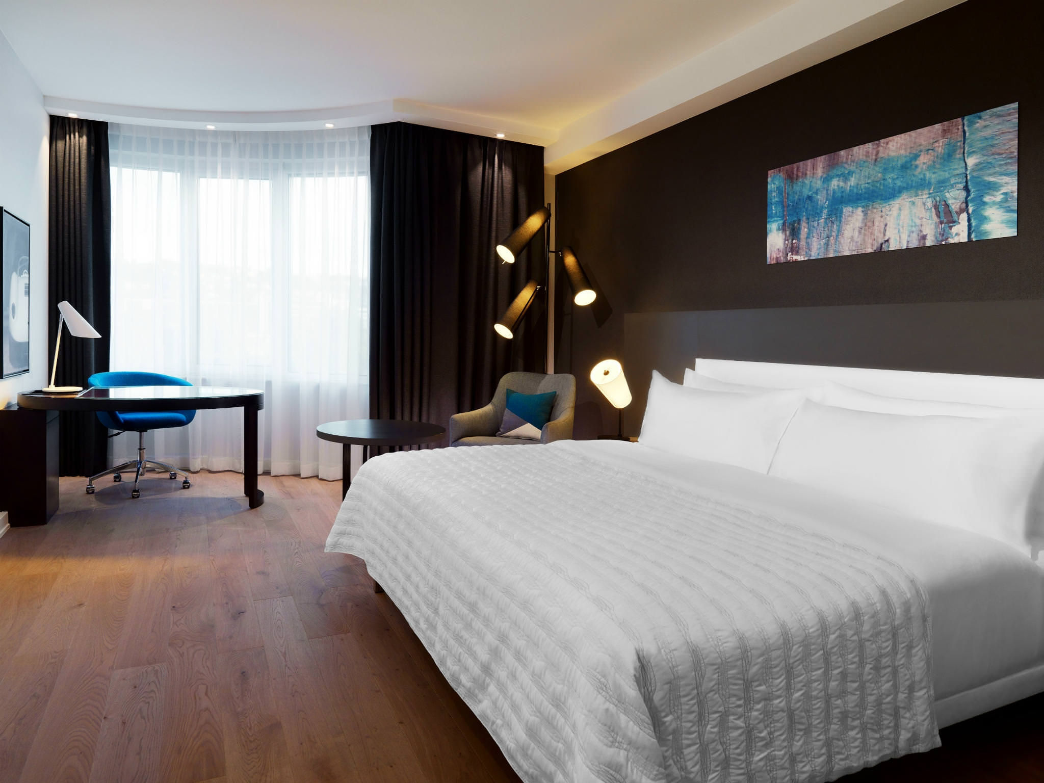 Luxushotel Stuttgart: Executive Chic Zimmer